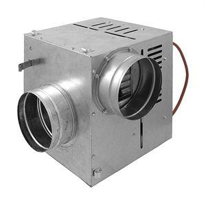Distribuidor aire caliente 400 m3/h salida 125 mm